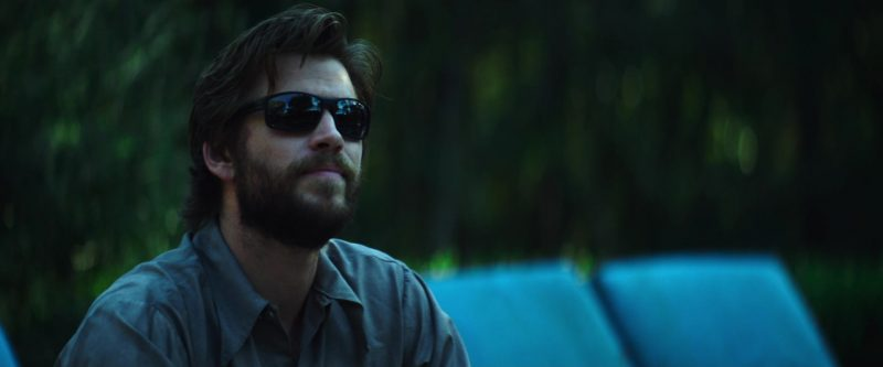 Men's Sunglasses Worn by Liam Hemsworth as Kyle in Arkansas - Movie Outfits and Products