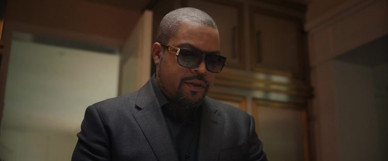 Men's Sunglasses Worn by Ice Cube in The High Note - Movie Outfits and Products