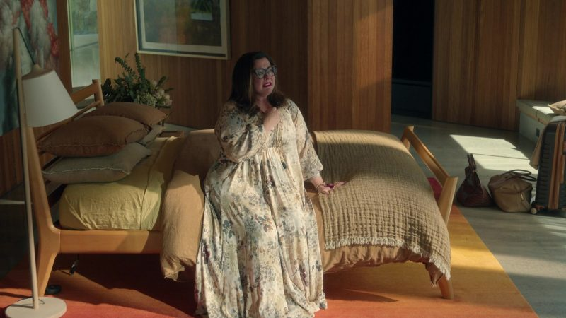Fashion Trends 2021: Bohemian Maxi Dress Worn by Melissa McCarthy as Frances Welty in Nine Perfect Strangers