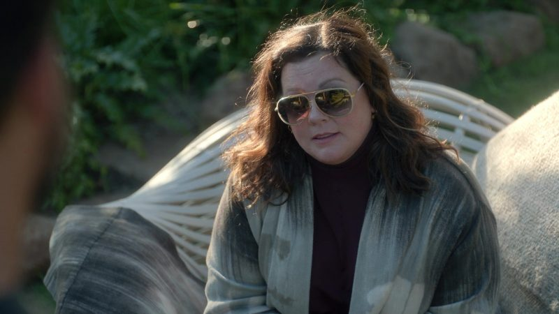 Fashion Trends 2021: Dita Condor Two Sunglasses of Melissa McCarthy as Frances Welty in Nine Perfect Strangers